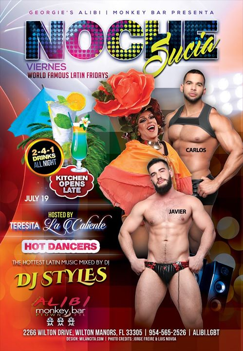 Noche Sucia Fridays in Wilton Manors le Fri, July 26, 2019 from 09:00 pm to 03:00 am (Clubbing Gay)