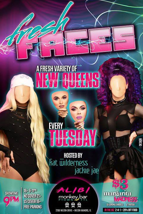 Fresh Faces - Tuesday at The Alibi! à Wilton Manors le mar. 20 août 2019 de 21h00 à 00h00 (After-Work Gay)
