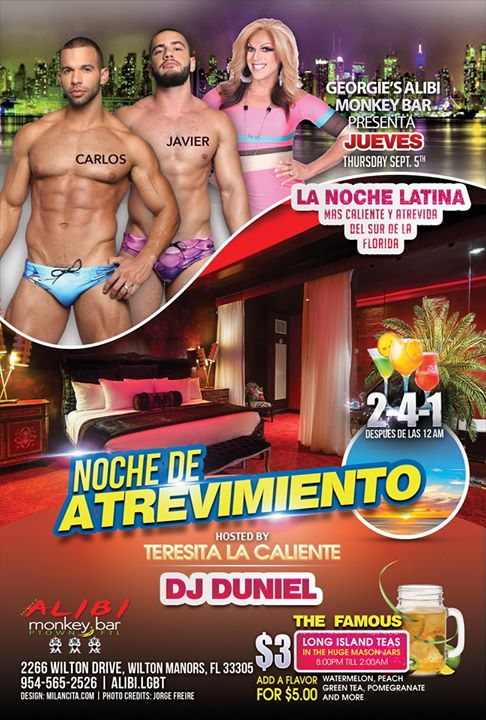 Noche de Atrevimiento in Wilton Manors le Thu, September 19, 2019 from 09:00 pm to 02:00 am (Clubbing Gay)