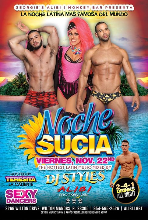 Noche Sucia Fridays in Wilton Manors le Fri, November 22, 2019 from 09:00 pm to 03:00 am (Clubbing Gay)