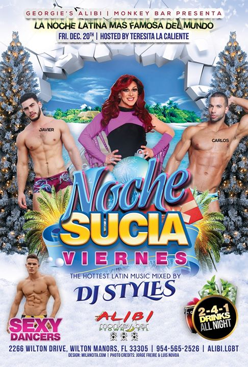 Noche Sucia Fridays in Wilton Manors le Fri, December 27, 2019 from 09:00 pm to 03:00 am (Clubbing Gay)