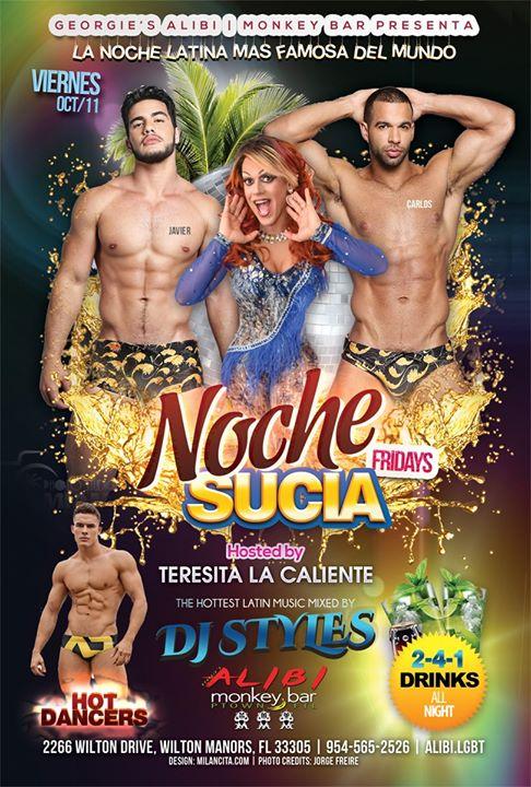 Noche Sucia Fridays à Wilton Manors le ven. 18 octobre 2019 de 21h00 à 03h00 (Clubbing Gay)
