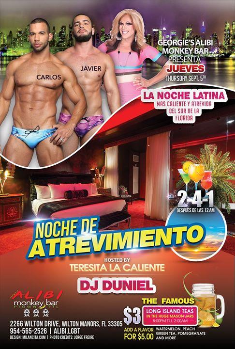 Noche de Atrevimiento in Wilton Manors le Do 12. September, 2019 21.00 bis 02.00 (Clubbing Gay)