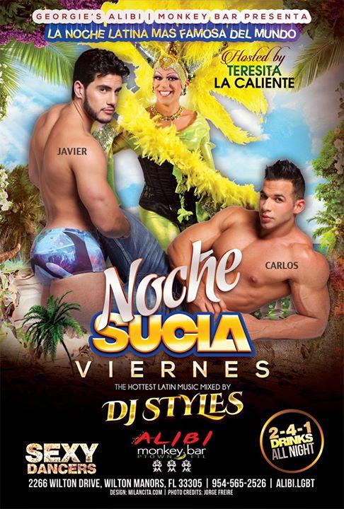 Noche Sucia Fridays à Wilton Manors le ven. 25 octobre 2019 de 21h00 à 03h00 (Clubbing Gay)