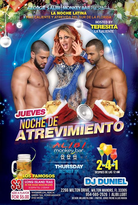 Noche de Atrevimiento in Wilton Manors le Thu, January  2, 2020 from 09:00 pm to 02:00 am (Clubbing Gay)