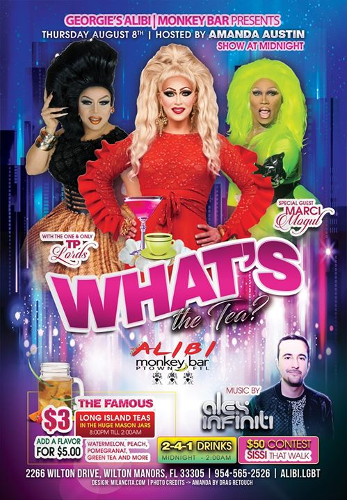 What's the Tea?! Thursdays in Wilton Manors le Do 15. August, 2019 23.00 bis 02.00 (Clubbing Gay)