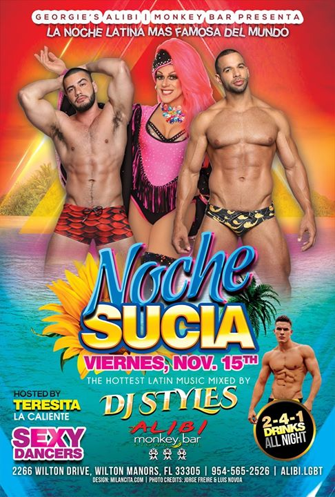Noche Sucia Fridays in Wilton Manors le Fri, November 15, 2019 from 09:00 pm to 03:00 am (Clubbing Gay)