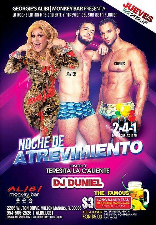 Noche de Atrevimiento in Wilton Manors le Do 22. August, 2019 21.00 bis 02.00 (Clubbing Gay)