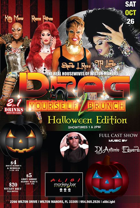 Wilton ManorsDrag Yourself to Brunch Saturdays2019年 1月 2日,13:00(男同性恋 早午餐)