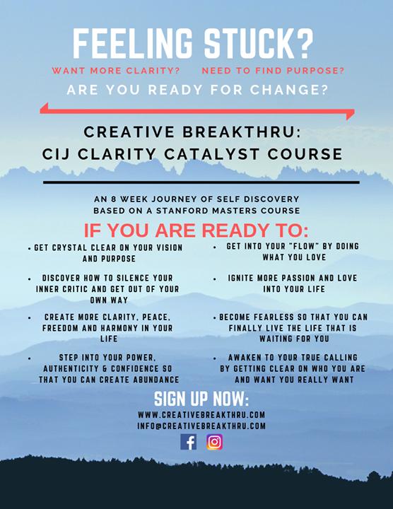 Creative Breakthru course en Wilton Manors le lun 25 de noviembre de 2019 19:00-21:00 (Curso práctico Gay, Lesbiana, Trans, Bi)