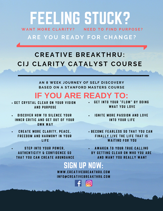 Creative Breakthru course in Wilton Manors le Mo 28. Oktober, 2019 19.00 bis 21.00 (Werkstatt Gay, Lesbierin, Transsexuell, Bi)