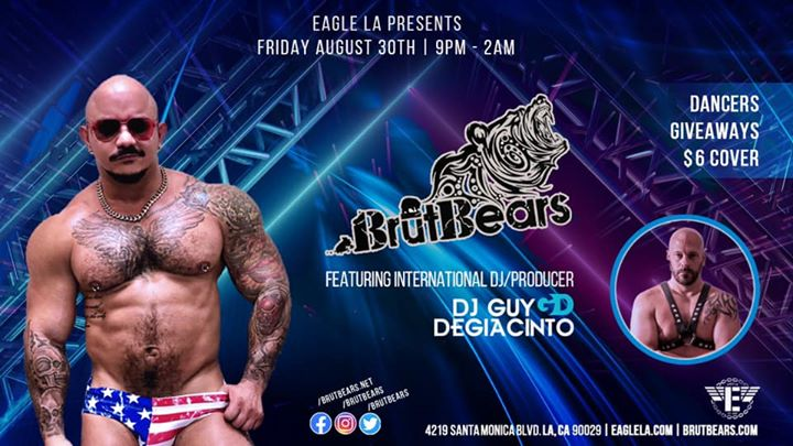 BrūtBears in Los Angeles le Fr 30. August, 2019 21.00 bis 02.00 (Clubbing Gay, Bear)