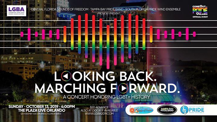 Band Concert: Looking Back. Marching Forward. à Orlando le dim. 13 octobre 2019 de 16h00 à 18h00 (Concert Gay)