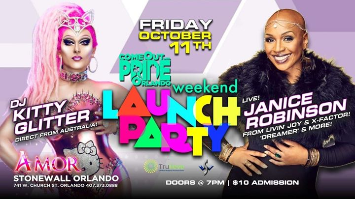Weekend Launch Party! a Orlando le ven 11 ottobre 2019 19:00-02:30 (Festival Gay)