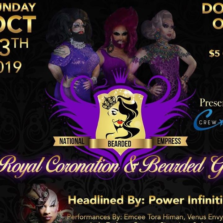 National Bearded Empress: The Royal Coronation and Bearded Gala a Orlando le dom 13 ottobre 2019 19:00-00:00 (After-work Gay)
