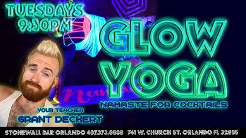 Glow Yoga! in Orlando le Tue, November 26, 2019 from 08:30 pm to 12:30 am (Workshop Gay)