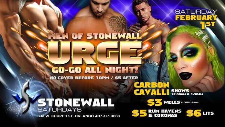 Stonewall Saturdays a Orlando le sab  1 febbraio 2020 22:00-02:00 (Clubbing Gay)