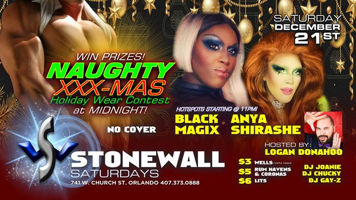 Stonewall Saturdays in Orlando le Sa 21. Dezember, 2019 22.00 bis 02.00 (Clubbing Gay)