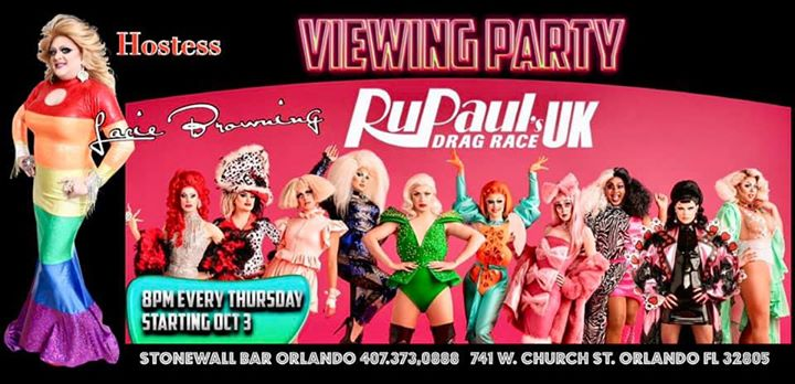 RuPaul U.K. Viewing Party en Orlando le jue 14 de noviembre de 2019 19:00-22:00 (After-Work Gay)