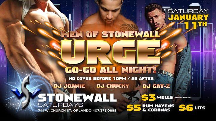 Stonewall Saturdays a Orlando le sab 11 gennaio 2020 22:00-02:00 (Clubbing Gay)