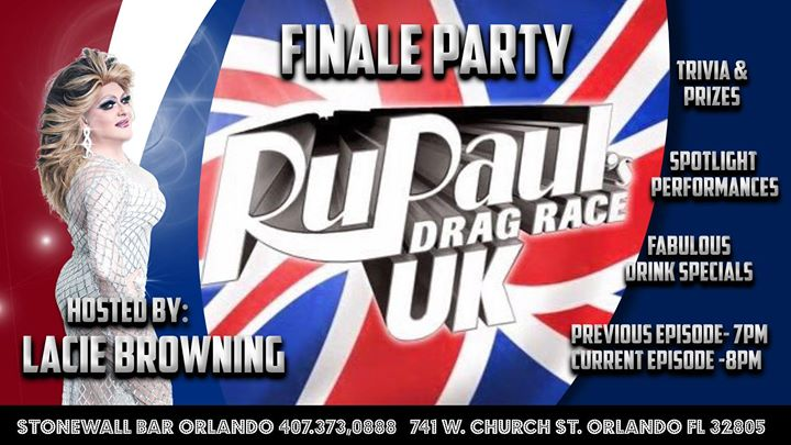 RuPaul U.K. Viewing Party in Orlando le Do 21. November, 2019 19.00 bis 22.00 (After-Work Gay)