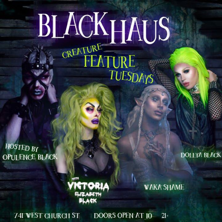 Creature Feature Tuesdays! in Orlando le Tue, July 30, 2019 from 09:00 pm to 02:00 am (Clubbing Gay)