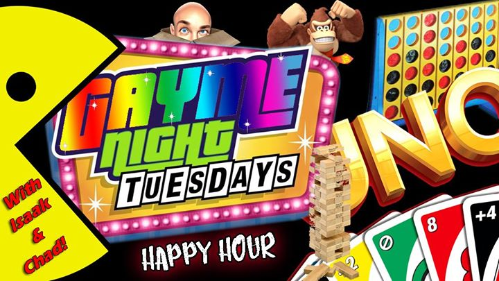 OrlandoGayme Night Tuesdays!2019年 4月23日,16:00(男同性恋 下班后的活动)