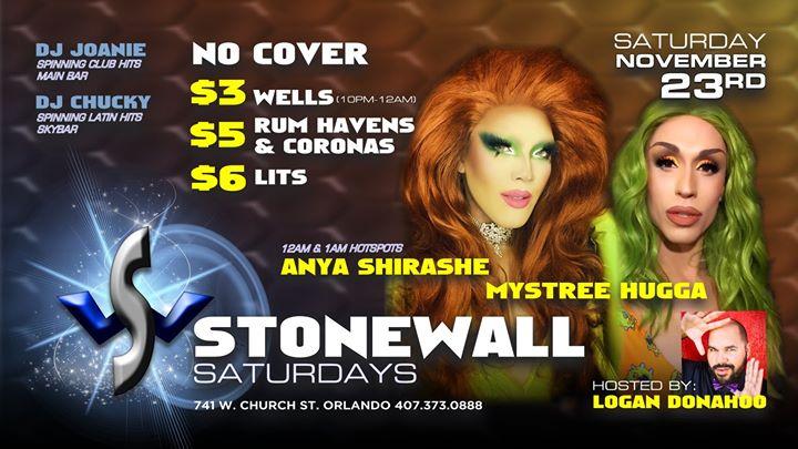 Free-On Saturdays! a Orlando le sab 23 novembre 2019 21:00-02:00 (Clubbing Gay)