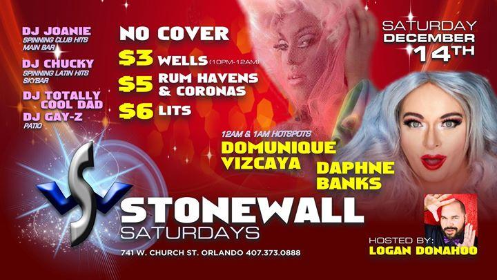 Free-On Saturdays! a Orlando le sab 14 dicembre 2019 21:00-02:00 (Clubbing Gay)