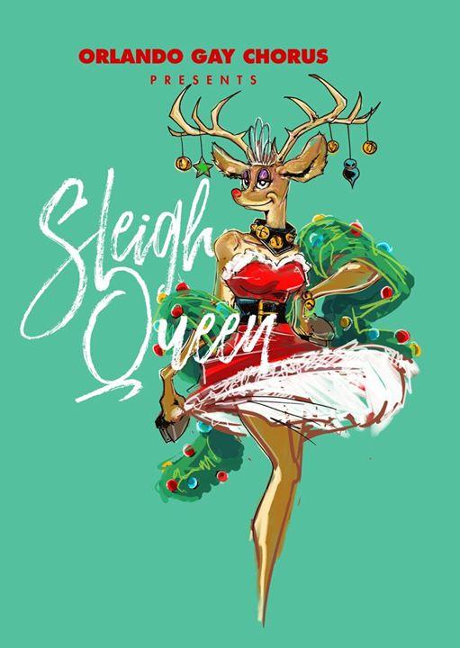 Sleigh Queen en Orlando le sáb 14 de diciembre de 2019 14:00-16:30 (Espectáculo Gay, Lesbiana, Trans, Bi)