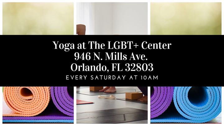 Yoga at The Center Orlando a Orlando le sab 21 settembre 2019 10:00-11:00 (Laboratorio Gay, Lesbica)