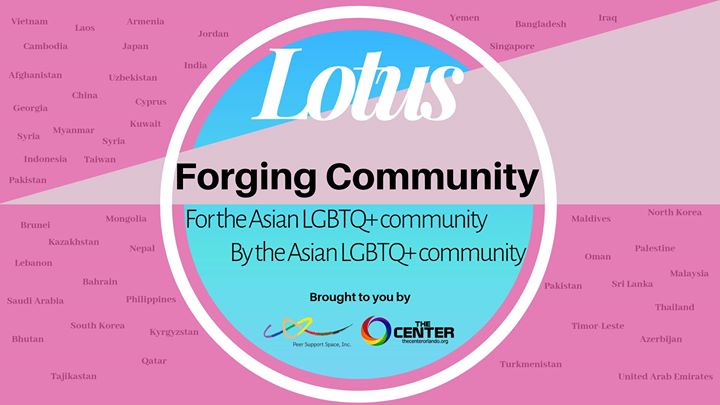 Lotus in Orlando le Fri, August  9, 2019 from 06:30 pm to 08:00 pm (Meetings / Discussions Gay, Lesbian)