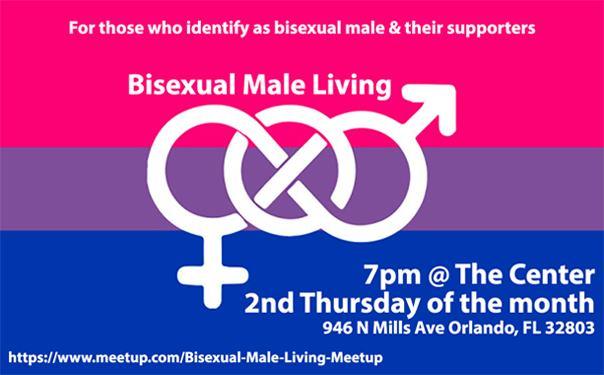 Bisexual Male Living en Orlando le jue 12 de marzo de 2020 19:00-21:00 (Reuniones / Debates Gay, Lesbiana)
