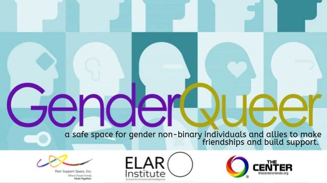 GenderQueer Community Group in Orlando le Mon, December  2, 2019 from 07:00 pm to 08:00 pm (Meetings / Discussions Gay, Lesbian)