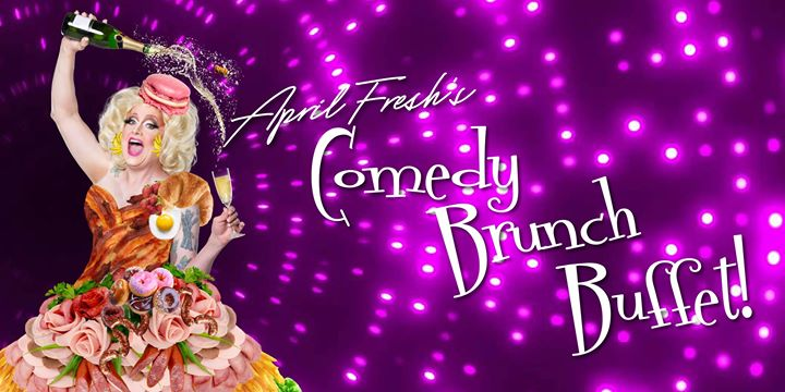 April Fresh's Comedy Brunch (September Edition) a Orlando le dom 15 settembre 2019 12:00-14:30 (Brunch Gay, Orso)