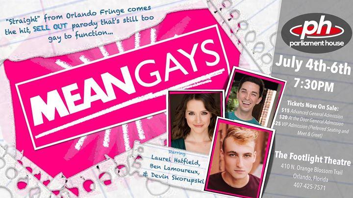 Mean Gays en Orlando le jue  4 de julio de 2019 19:30-21:00 (Espectáculo Gay, Oso)