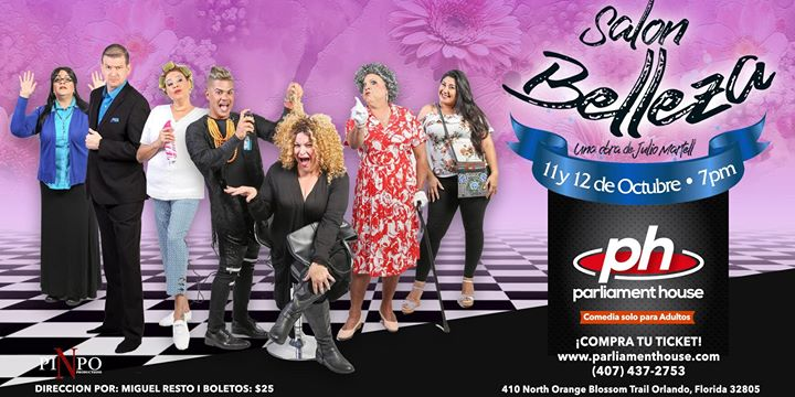 Salon de Belleza in Orlando le Fr 11. Oktober, 2019 19.00 bis 21.00 (Festival Gay, Bear)