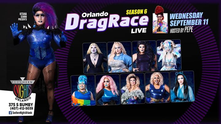 #ODRL Season 6 Snatch Game a Orlando le mer 11 settembre 2019 alle 21:30 (After-work Gay, Lesbica)