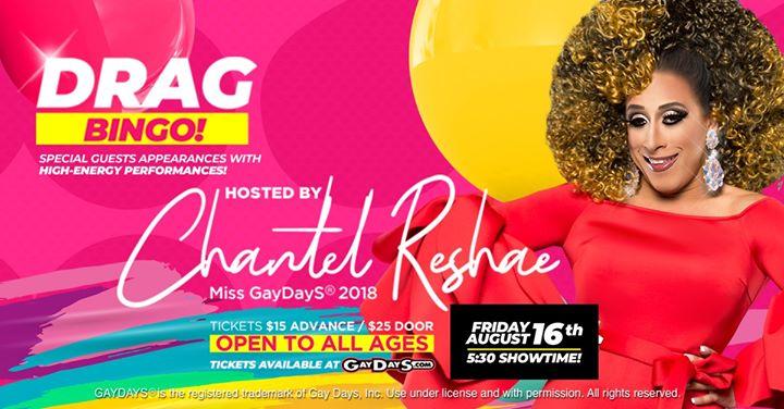 GayDayS® Drag Bingo 2019 | #OfficialGayDayS in Orlando le Fri, August 16, 2019 from 05:30 pm to 07:00 pm (After-Work Gay, Lesbian, Trans, Bi)
