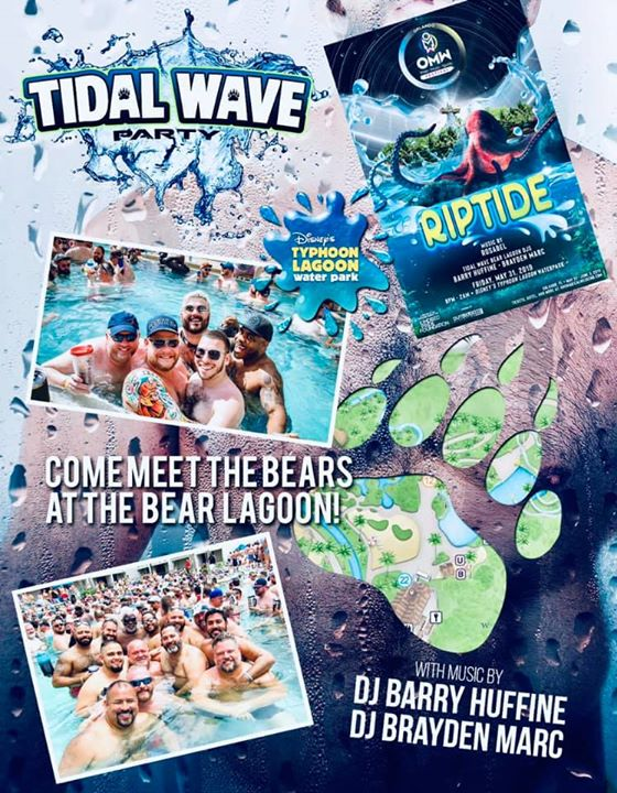 Riptide in Orlando le Fri, May 31, 2019 from 08:00 pm to 02:00 am (Clubbing Gay, Bear)