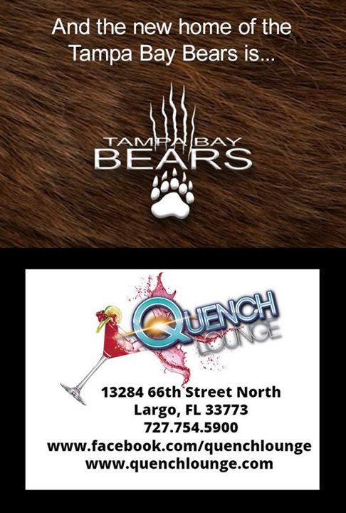 Tampa Bay Bears Monthly Social and Meeting en Largo le sáb  9 de noviembre de 2019 19:30-21:30 (Reuniones / Debates Gay, Oso)