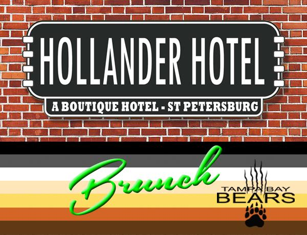 Sunday Brunch At the Hollander Hotel en St. Petersburg le dom  7 de julio de 2019 10:30-12:00 (Brunch Gay, Oso)