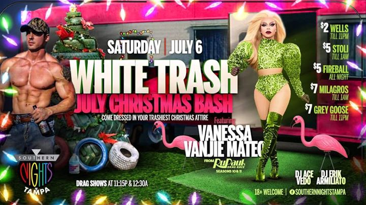 7.6.19 Vanessa Vanjie Mateo at Southern Nights Tampa in Tampa le Sat, July  6, 2019 from 09:00 pm to 03:00 am (Clubbing Gay)