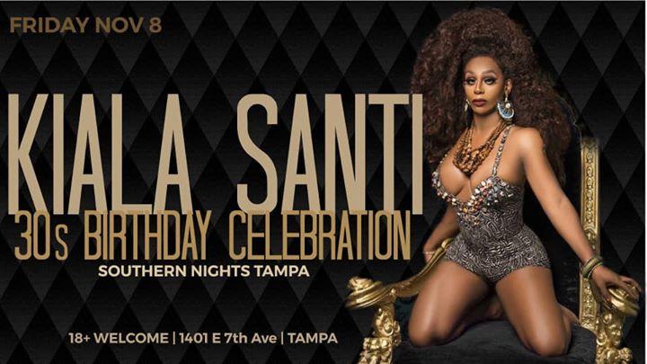 11.8.19 Kaila Santi 30's BDay at Fuego/Pumped Friday's en Tampa le vie  8 de noviembre de 2019 21:00-03:00 (Clubbing Gay)