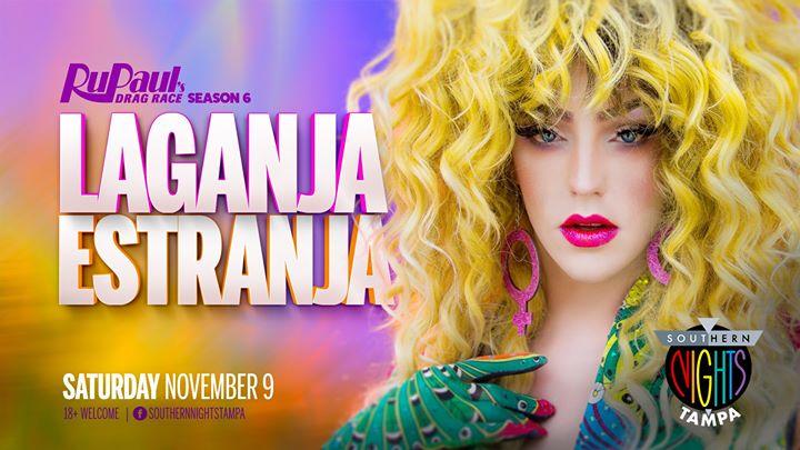 11.9.19 Laganja Estranja from RPDR 6 at Southern Nights TPA en Tampa le sáb  9 de noviembre de 2019 21:00-03:00 (Clubbing Gay)