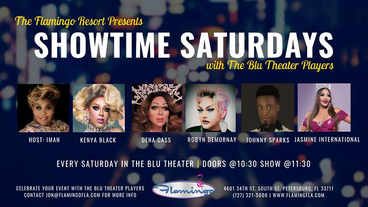 Showtime Saturdays in St. Petersburg le Sat, July  6, 2019 from 11:30 pm to 12:30 am (Clubbing Gay)