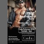 Code Bars 7th year anniversary - Mr Code Enforcer in St. Petersburg le Sat, February 24, 2018 from 09:00 pm to 03:00 am (Clubbing Gay)