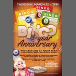 BINGO 3 year Anniversary with host Alexis Del A Mar in St. Petersburg le Thu, March 22, 2018 from 07:00 pm to 10:00 pm (Clubbing Gay)