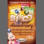 BINGO 3 year Anniversary with host Alexis Del A Mar en St. Petersburg le jue 22 de marzo de 2018 19:00-22:00 (Clubbing Gay)