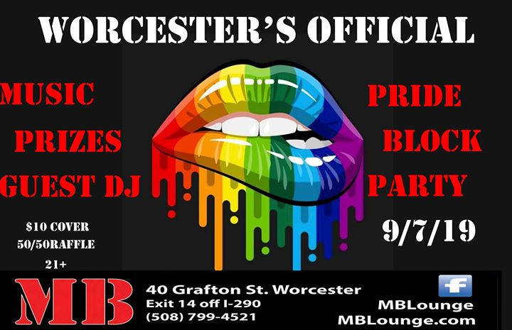Official Worcester Pride Block Party in Worcester le Sa  7. September, 2019 15.00 bis 02.00 (Clubbing Gay)